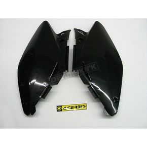 Acerbis Black Side Panels/Rear Number Plate - 2071230001