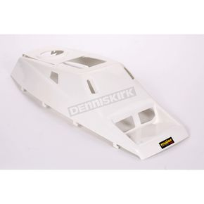 Maier White Hood and Gas Tank Cover - 509641