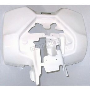 Maier White ATV Rear Fender - 177911