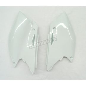 Acerbis White Side Panel/Rear Number Plate - 2043370002