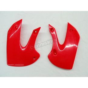 UFO CR Red Radiator Shrouds - KA03733-070