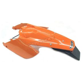 UFO KTM Enduro Rear Fender w/Light - KT03081-127