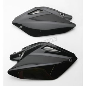 Acerbis Black Side Panels/Rear Number Plate - 2043290001