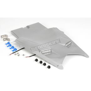 Hot Bodies Racing Superbike Rear Silver Undertail Fender Eliminator - S03GS-SB-SIL