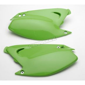 UFO KX Green Side Panels - KA03739-026