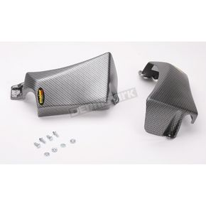 Maier ATV Carbon Fiber Radiator Scoops for Racing Front End - 18997
