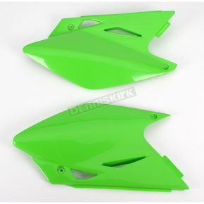 UFO KX Green Side Panels - KA03771-026
