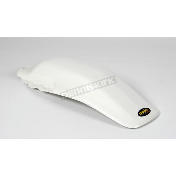 Maier White Rear Fender - 135021