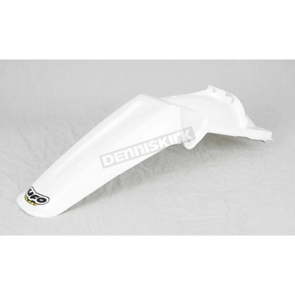 UFO White Rear Fender - KA02767-047