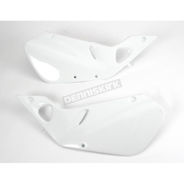 Acerbis White Side Panels/Rear Number Plate - 2071320002
