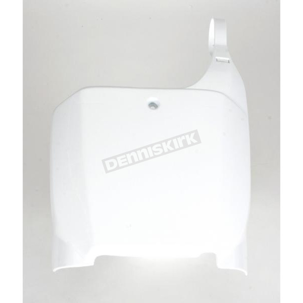 Acerbis Front White Number Plate - 2042240002