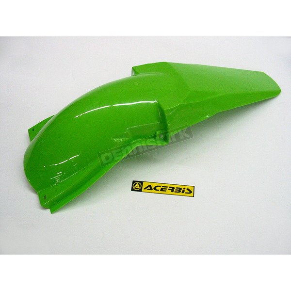 Acerbis Lime Green Rear Fender - 2071060006