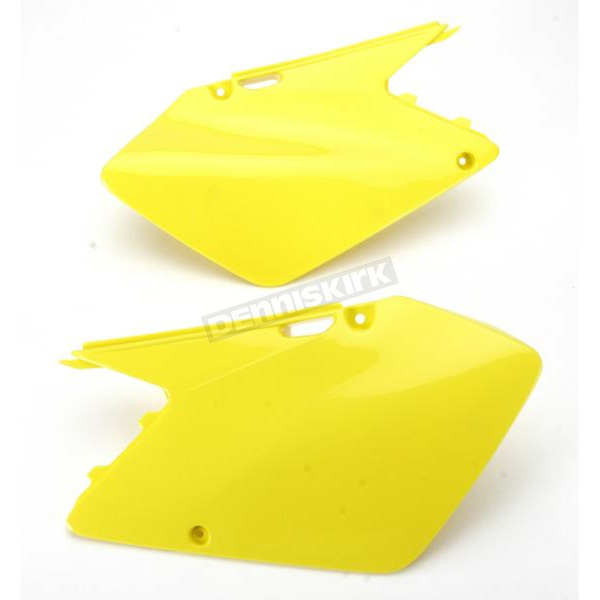 UFO Neon Yellow Side Panels - SU03996-102