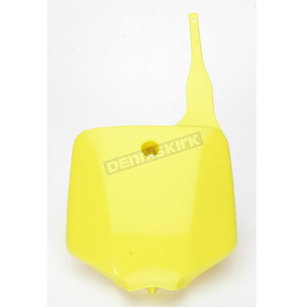 UFO Neon Yellow Front Number Plate - SU03926-102