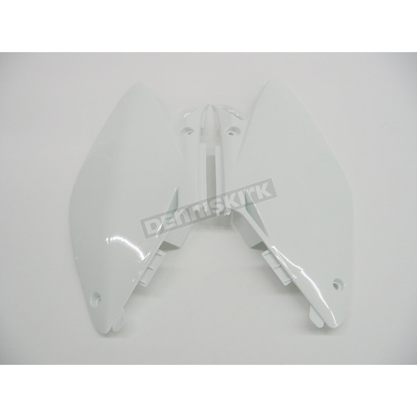 Acerbis White Side Panels/Rear Number Plate - 2071230002