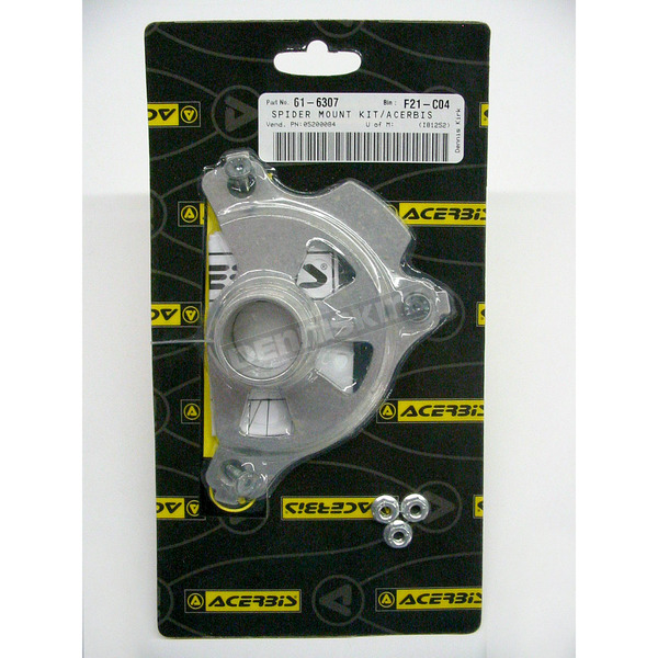 Acerbis Mounting Kit for Spider Evolution Front Disc Cover - 2043170059