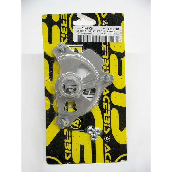 Acerbis Mounting Kit for Spider Evolution Front Disc Cover - 2043160059