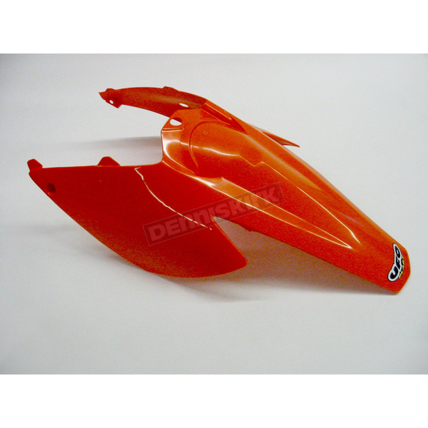 UFO KTM Rear Fender w/Side Panels - KT03076-127