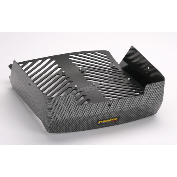 Maier Stock Carbon Fiber Look Radiator Cover - 18959-30