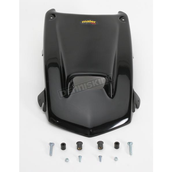 Maier ATV Black Scooped Hood - 509650
