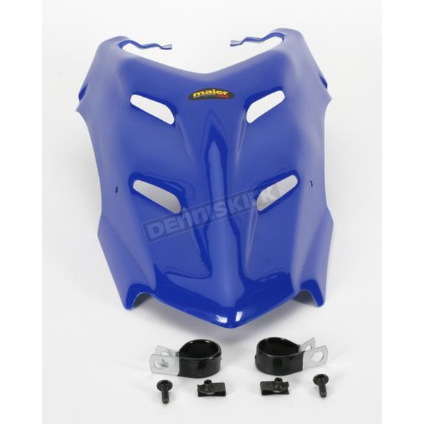 Maier ATV Blue Custom Vented Hood - 510026