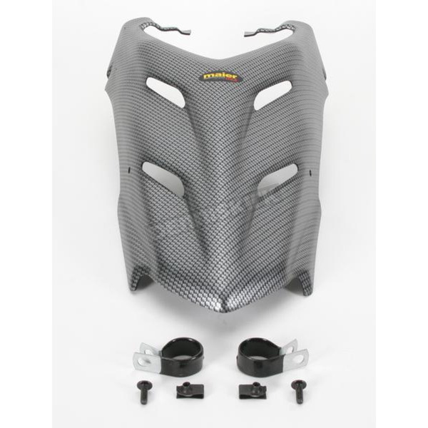 Maier ATV Carbon Fiber Look Custom Vented Hood - 51002-30