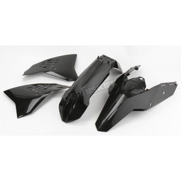 Acerbis Black Body Plastic Kit - 2082030001