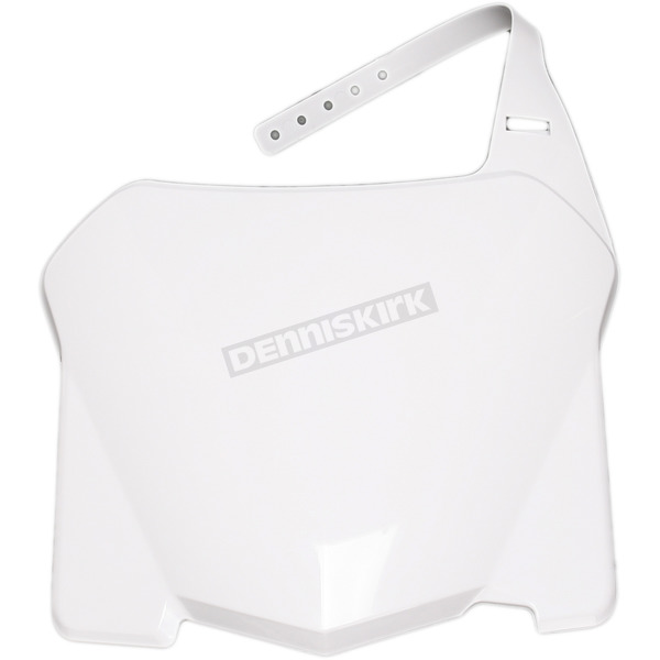 Acerbis Front White Number Plate - 2113620002