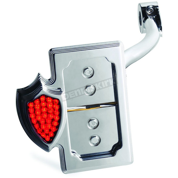 Custom Chrome Doss Led Crest Side Mount Taillights And