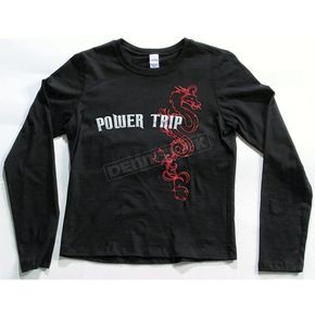 Power-Trip Ladies Vamp Long Sleeve T-Shirt - 6484002