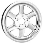 Chrome 66-Tooth Recoil Rear Pulley - 66FLT-105C-1