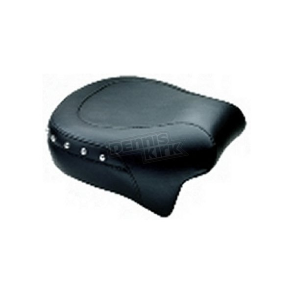 Mustang Seats 11 in. Wide Studded Rear Seat - 75452