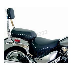 Mustang Seats Studded Seat Cover w/Fringe - 77591