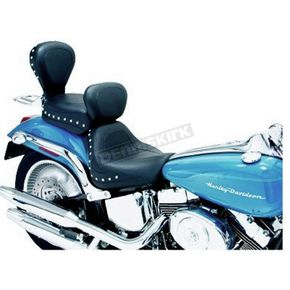 Mustang 11 1/2 in. Wide Studded Rear Seat - 79149