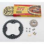 520 Quad Z-Ring Chain and Sprocket Kit - 5QUAD094KHO