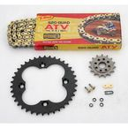 520 Quad Z-Ring Chain and Sprocket Kit - 5QUAD094KHO003