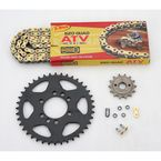 520 Quad Z-Ring Chain and Sprocket Kit - 5QUAD112KSU0