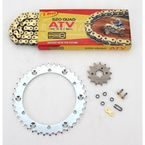 520 Quad Z-Ring Chain and Sprocket Kit - 5QUAD098KYA002