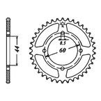 49 Tooth Sprocket - JTR833.49
