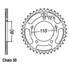 48 Tooth Sprocket - JTR2010.48