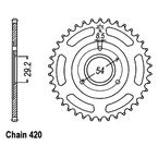 37 Tooth Sprocket - JTR255.37