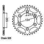 Rear Sprocket - JTR745.37