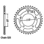 Sprocket - JTR807.45