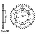Rear Sprocket - JTR251.51
