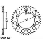 520 45 Tooth Rear Sprocket - JTR822.45
