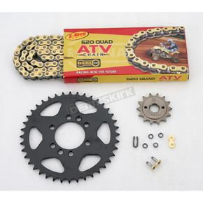 Regina 520 Quad Z-Ring Chain and Sprocket Kit - 5QUAD112KSU0