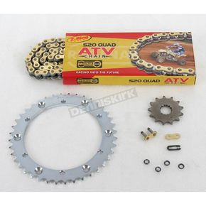 Regina 520 Quad Z-Ring Chain and Sprocket Kit - 5QUAD092KYA005