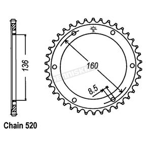JT Rear Sprocket - JTR5.49