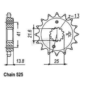 JT Sprockets Sprocket - JTF296.15