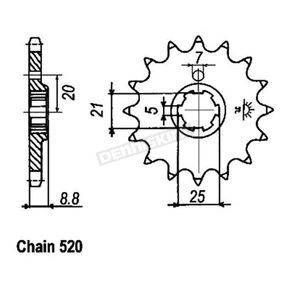 JT Sprockets Sprocket - JTF507.13